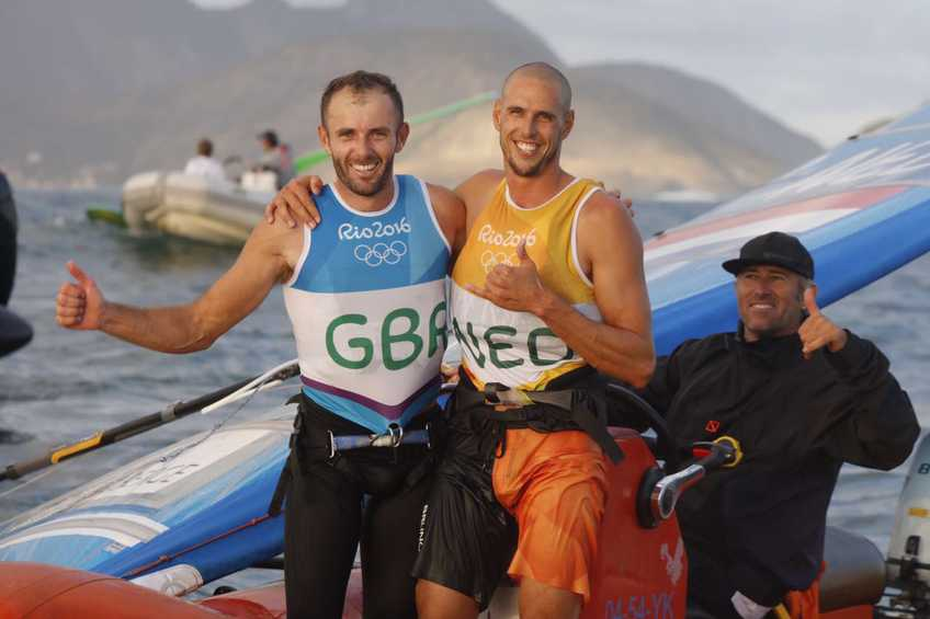 BREAKING - Van Rijsselberge and Dempsey take first Olympic sailing medals