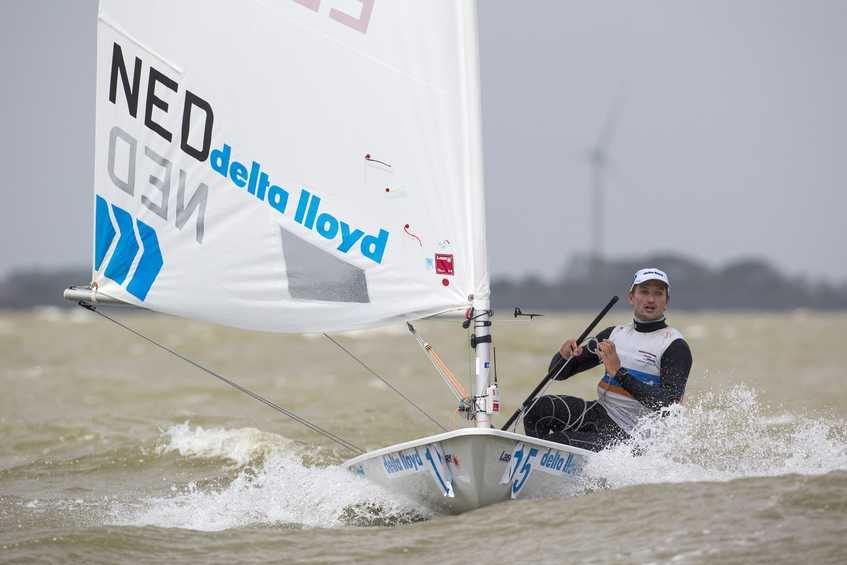 Costly mistakes and cold winds on Delta Lloyd Regatta opening day