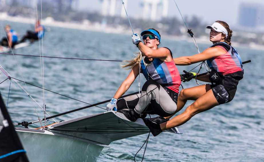WATCH LIVE - RS:X, 49er, 49erFX, Nacra 17 Miami Medal Races