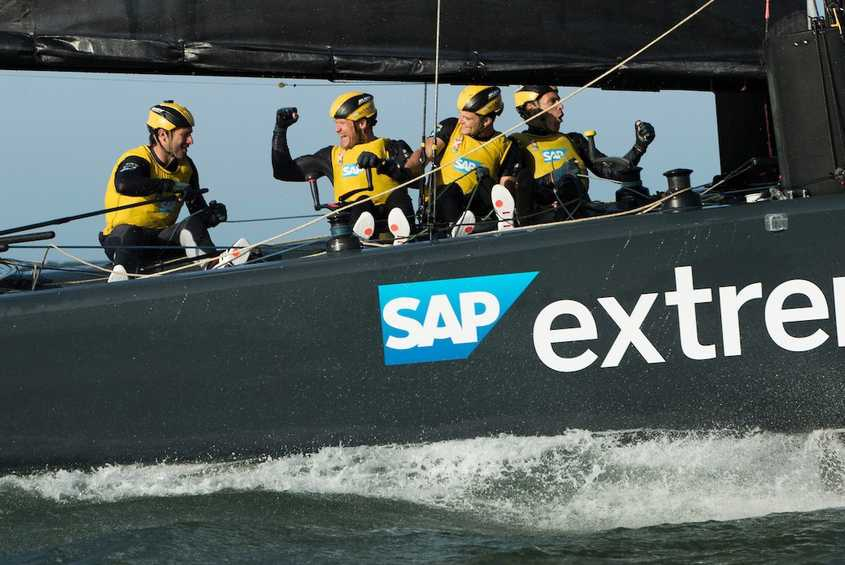 SAP Extreme Sailing Team clinch opening 2017 Extreme Series win