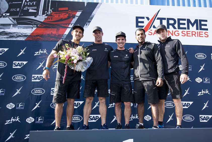 Oman Air moves top of overall Extreme Sailing Series leaderboard