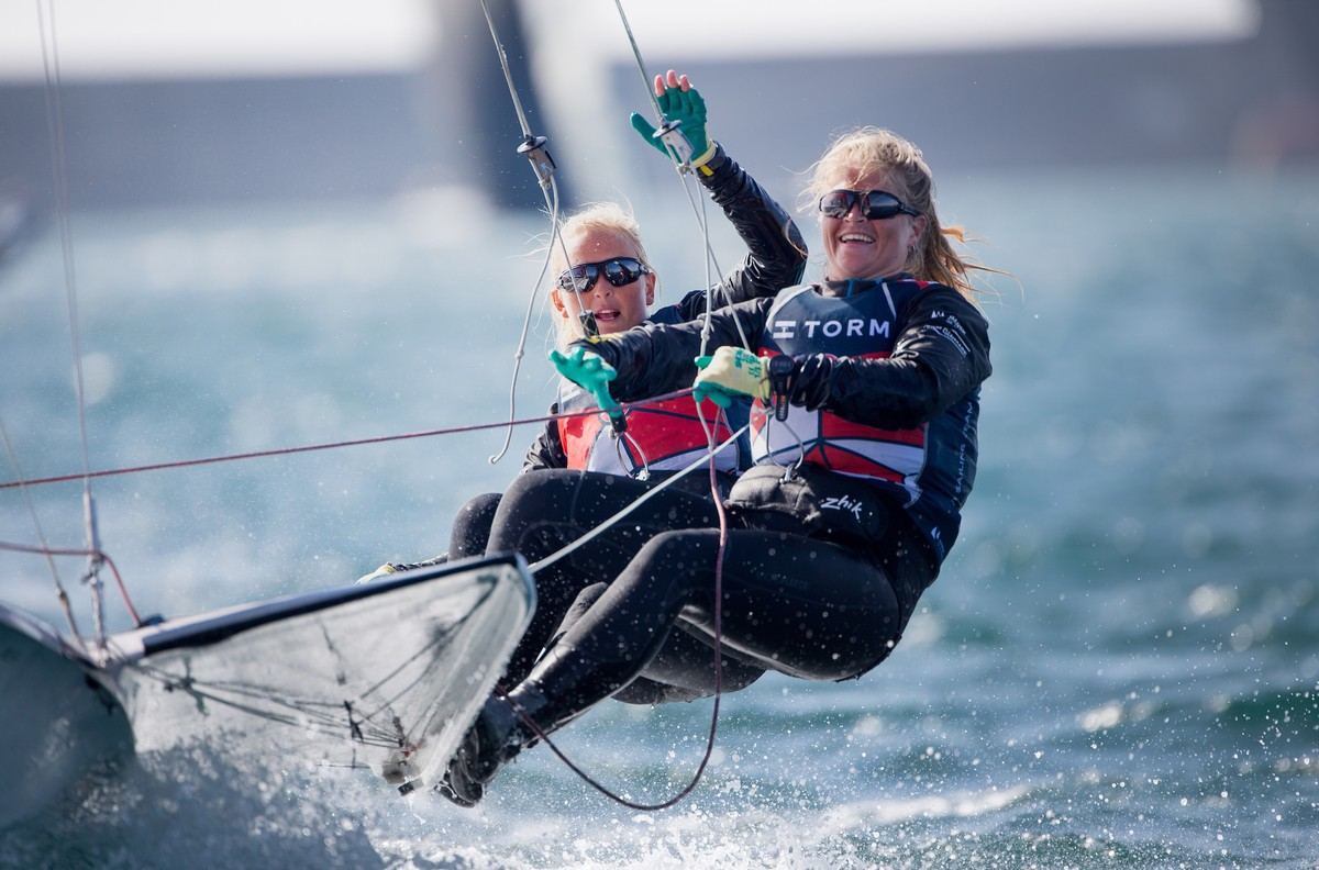 Danish Olympic medallists target top eight at Hempel Sailing World Championships