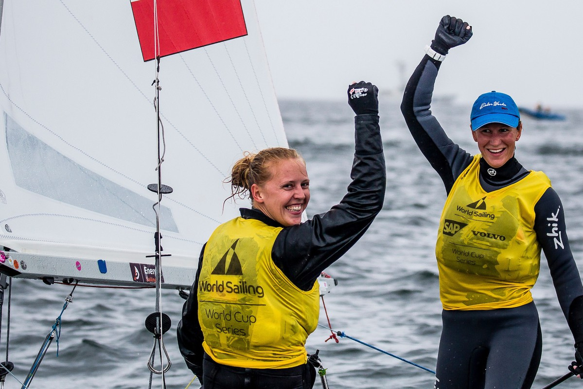 Polish smiles in the Women's 470