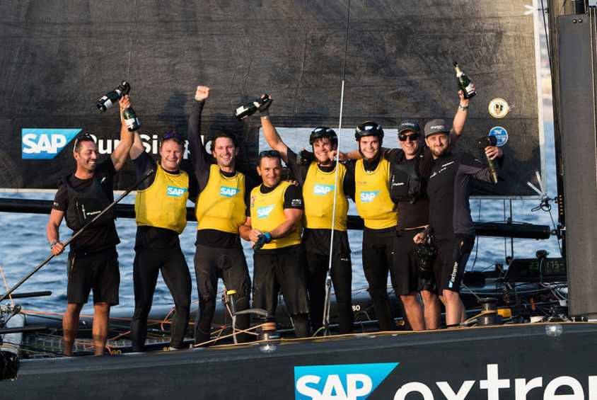 SAP Extreme Sailing Team triumphs in 2017 Extreme Sailing Series