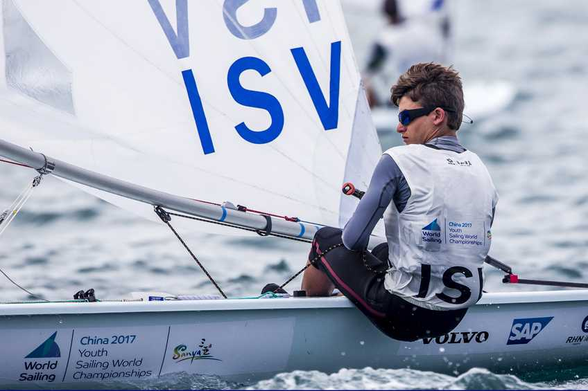 U.S. Virgin Islands sailors inspire Di Blasi at the Sanya 2017 Youth Worlds