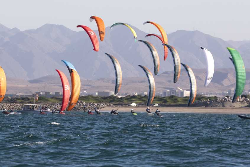 Chase for Formula Kite Worlds glory kicks off in Oman
