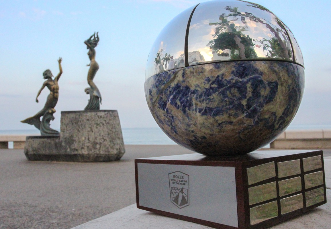 Rolex World Sailor of the Year Trophy