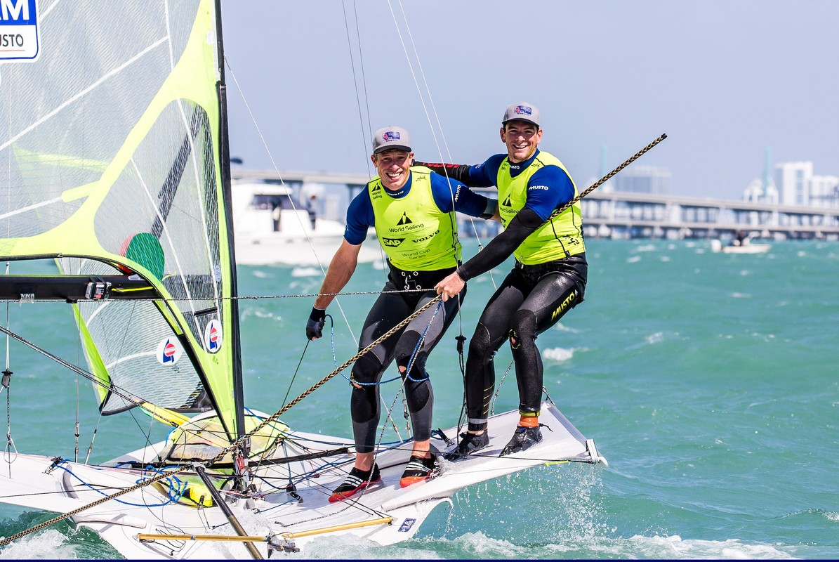 British Nacra 17 duo want gold at the Worlds