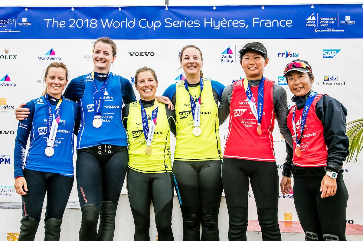 Hyères signs off World Cup Series Rounds in style