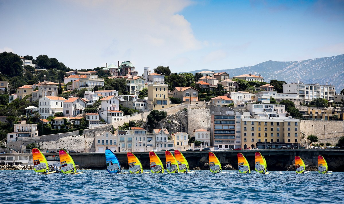 Sights and sounds of Olympic Sailing come to Marseille