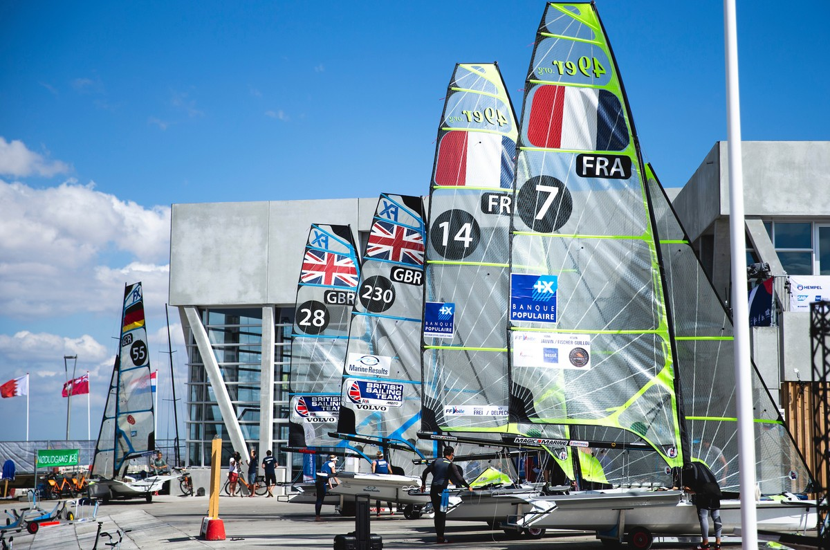 Day #1 Morning Report - Aarhus Sailing World Championships 2018