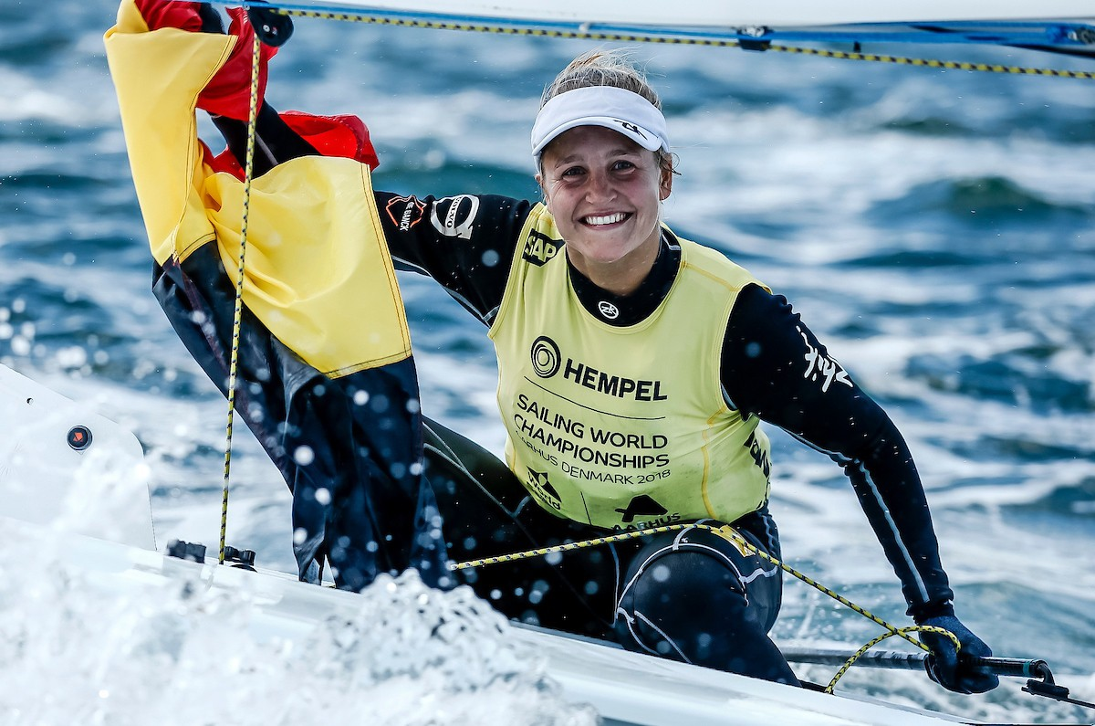 Plasschaert and Kontides find gold in the Bay of Aarhus