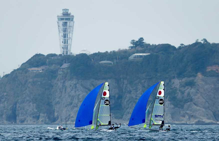 Hempel World Cup Series Enoshima cancelled due to COVID-19