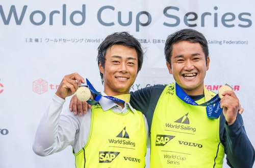 Japan strike gold on Tokyo 2020 waters as World Cup Series Enoshima concludes