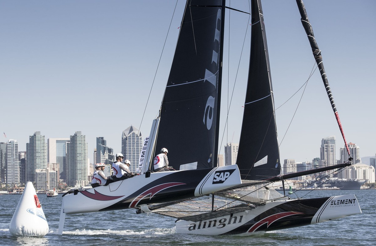 True to form, current Series frontrunners Alinghi took four wins out of six, cementing themselves as the ones to beat in San Diego.