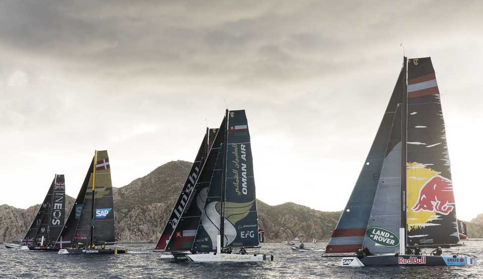 Swiss foiling masters Alinghi crowned victorious in 2018 Extreme Sailing Series