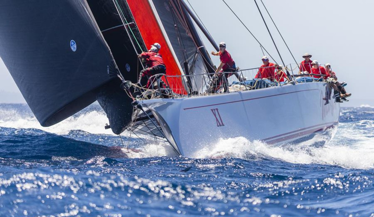 Wild Oats XI has been joslting for position in the closest race ever.