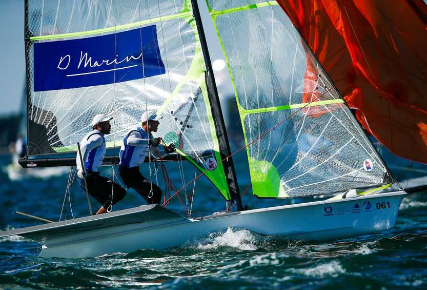 Sailors put training into practice at Hempel World Cup Series Miami