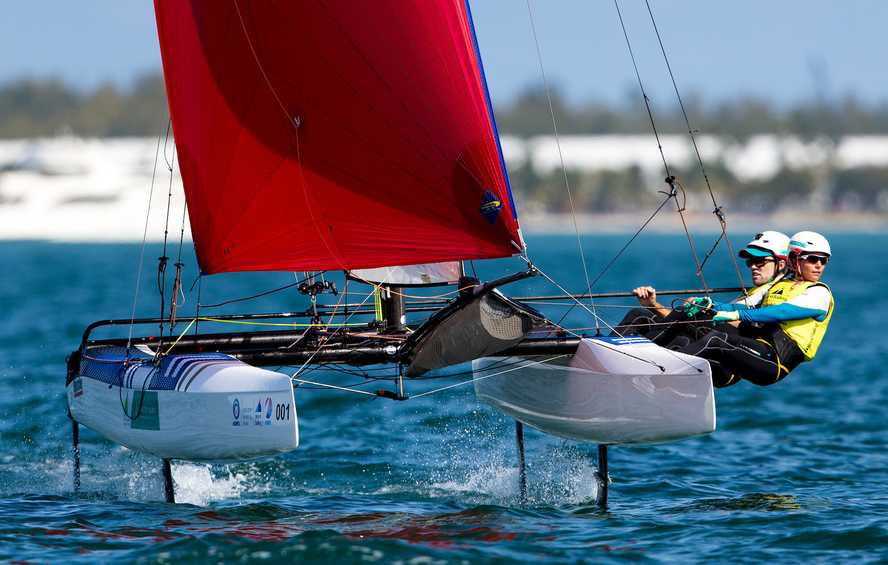 Sailors navigate light wind on the path to Hempel World Cup Series Medal Races