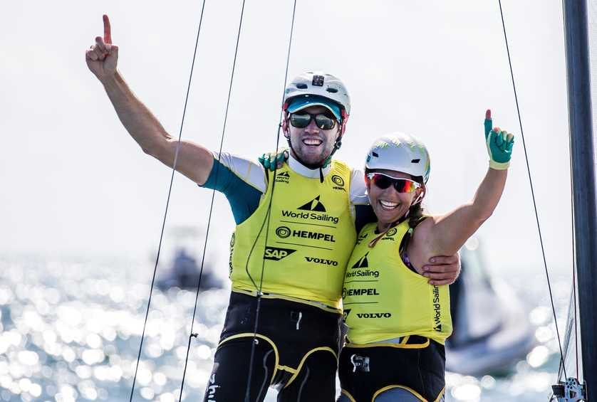 Five podiums decided at Hempel World Cup Series Miami