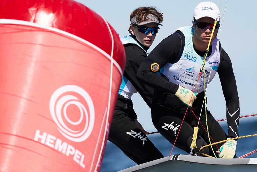 Day #1 Morning Report - Hempel Youth Worlds