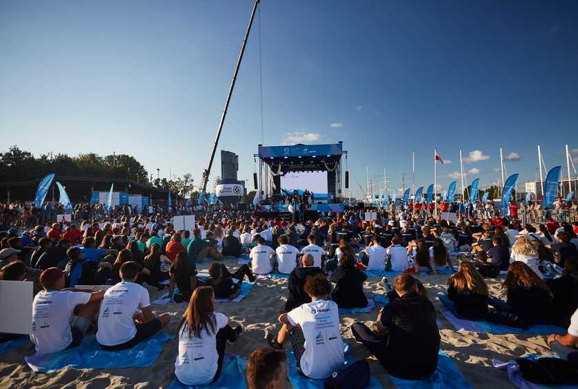 Beach party opens the Hempel Youth Sailing World Championships