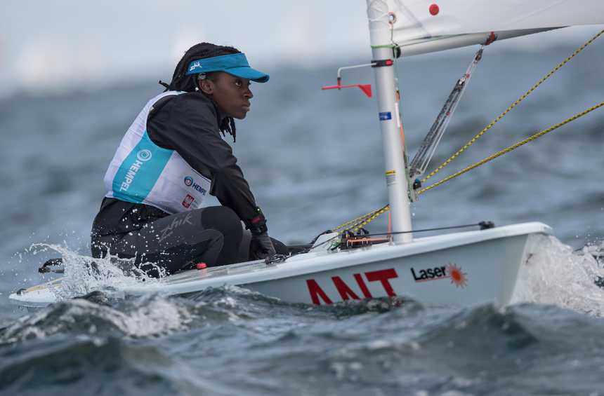 Emerging Nations Programme sailors settle into the Hempel Youth Worlds