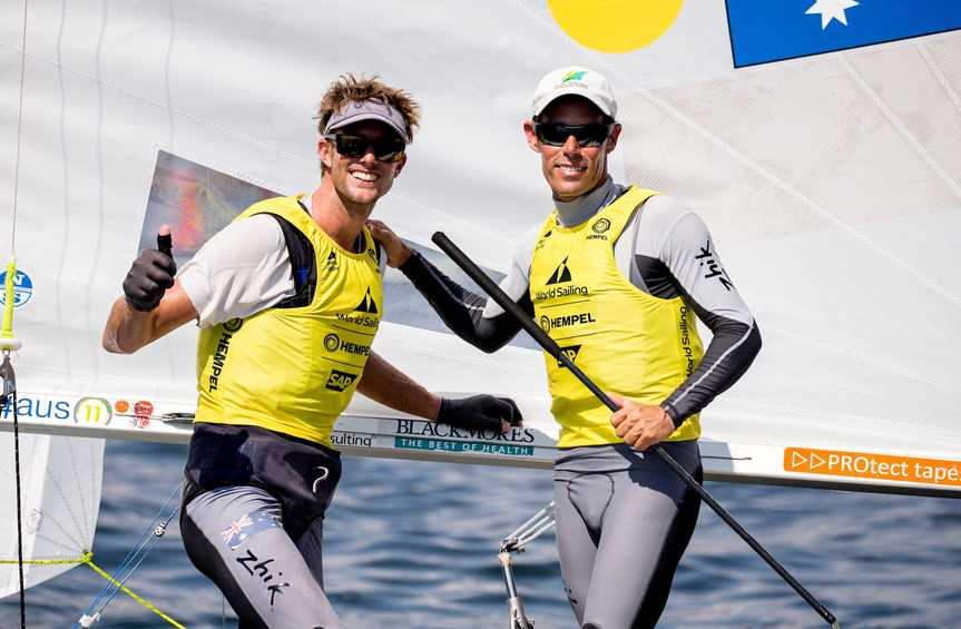 Three in a row for Belcher and Ryan as Hempel World Cup Series Enoshima wraps up