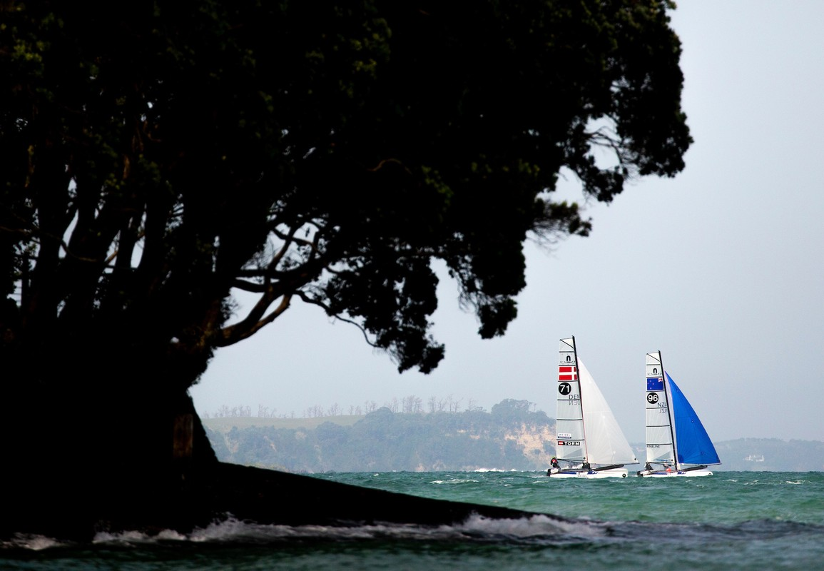 Nacra 17 World Championship in Auckland