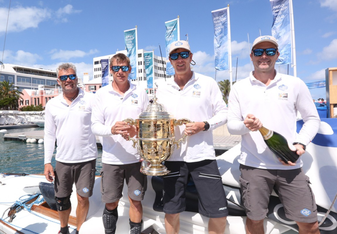 Williams wins second Argo Group Gold Cup