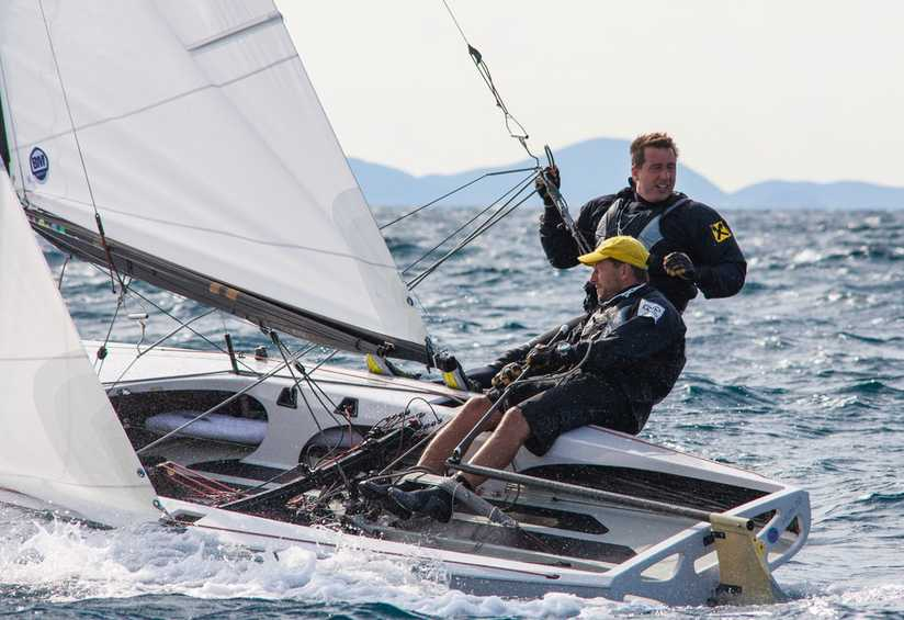 Lucky 13 for Majthényi and Domokos at the Flying Dutchman World Championship