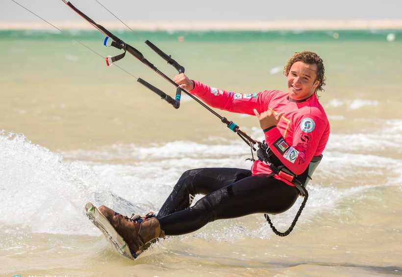 Morocco's Ouahmid claims first African Freestyle Kiteboarding Championships