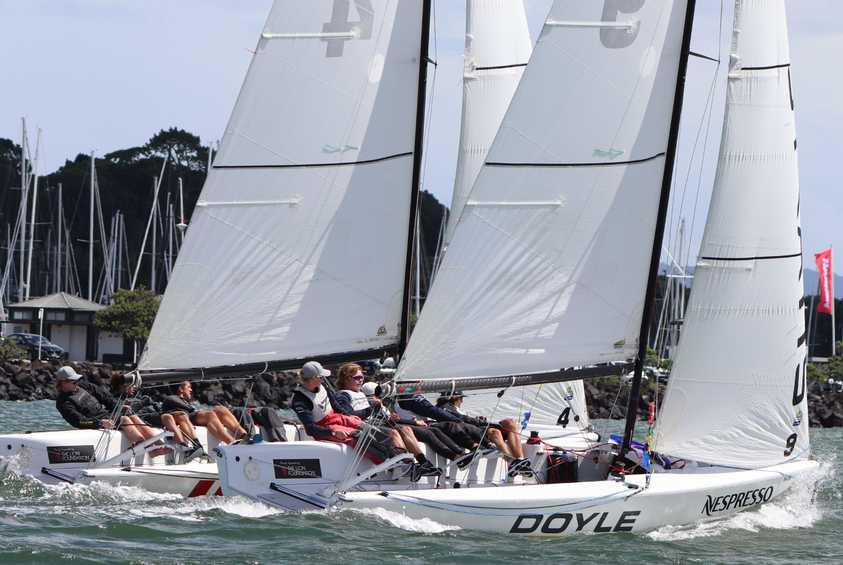 Egnot-Johnson wins 2019 Nespresso Youth International Match Racing Cup