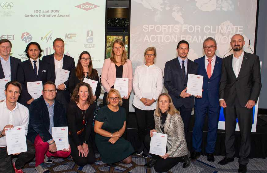 World Sailing gains international recognition for its work on reducing carbon emissions across the sport