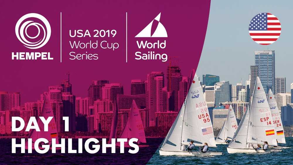 Hempel World Cup Series Miami - Highlights Day #1