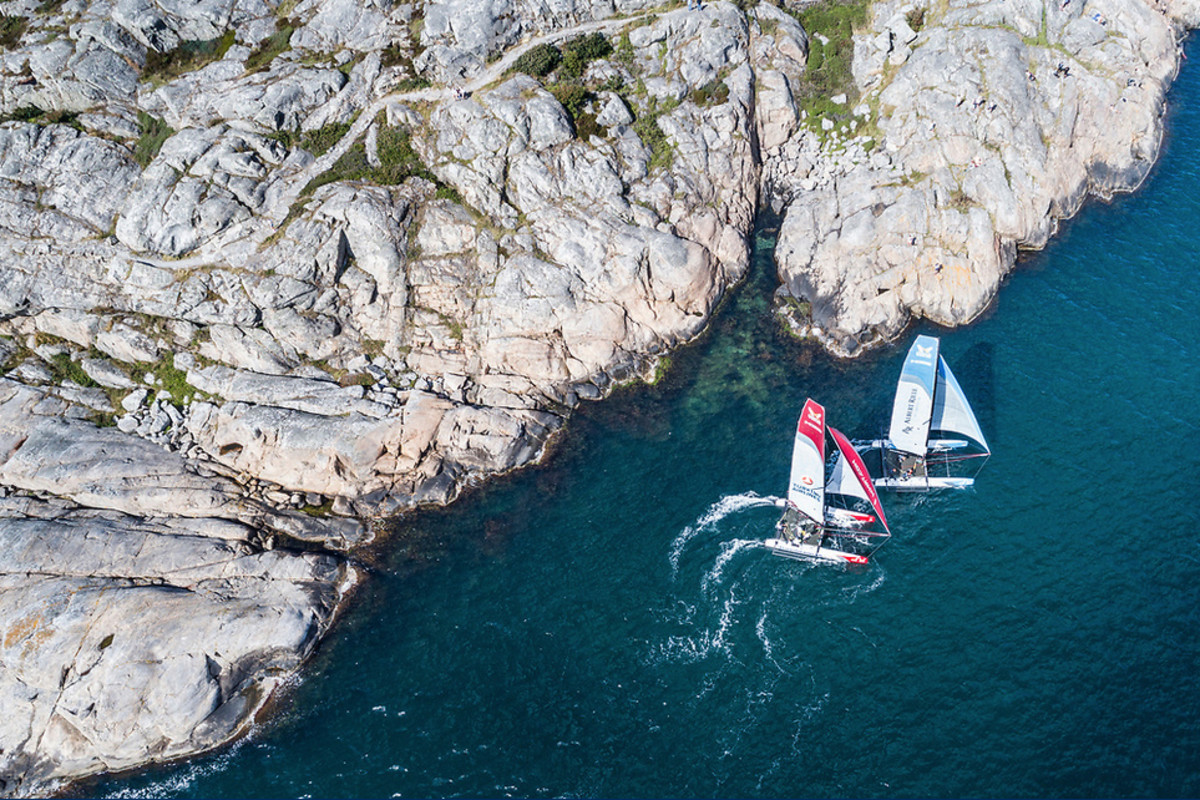 Racing in Marstrand, Sweden