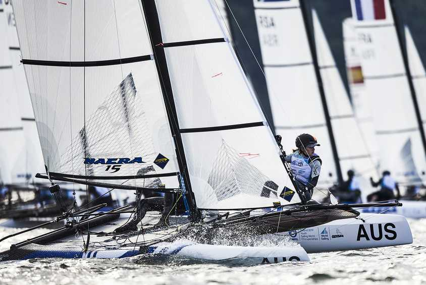 Youth Olympians shine at the Hempel Youth Sailing World Championships