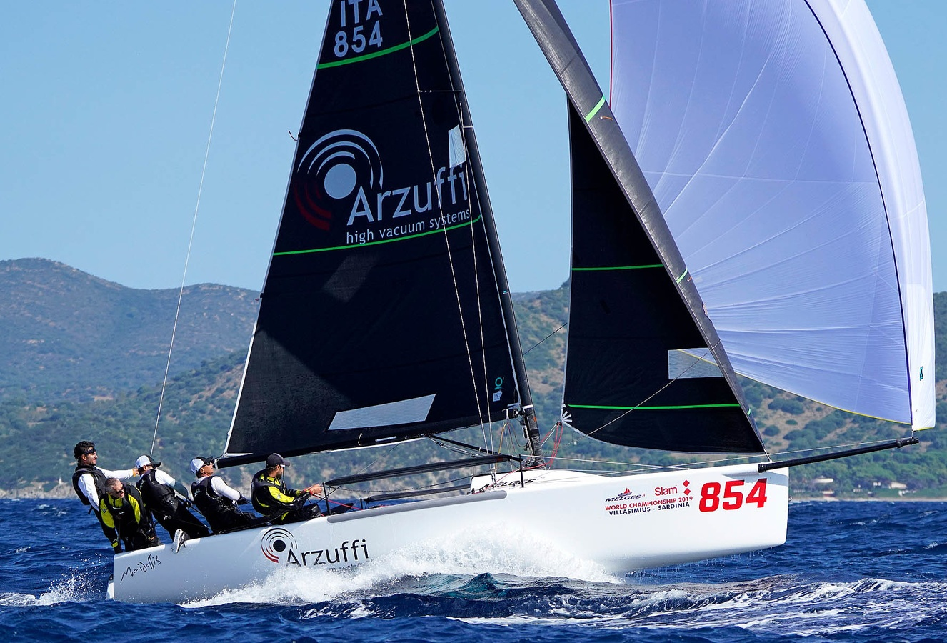 Maidollis and Take 4 are the new Melges 24 World Champions
