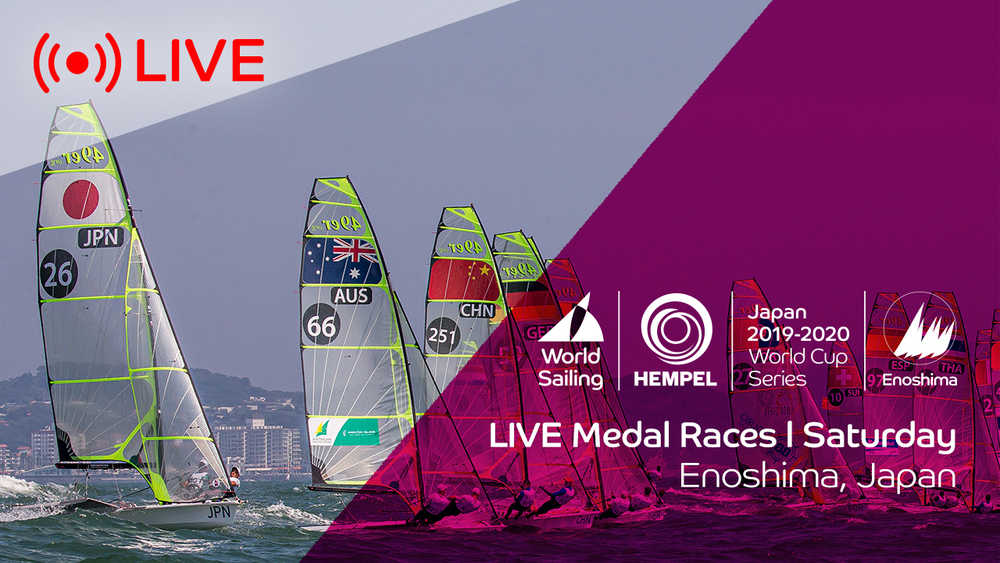 Hempel World Cup Series Enoshima - Medal Race Day #1