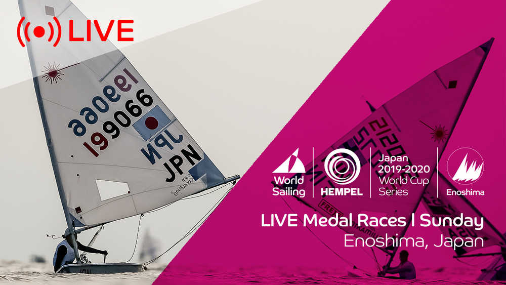 Hempel World Cup Series Enoshima - Medal Race Day #2