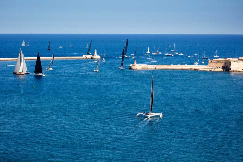 Simply Delivered. 2016 Rolex Middle Sea Race is underway