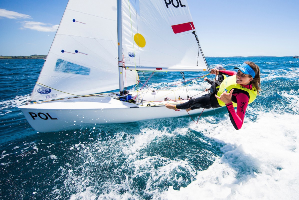 Fresh faces look to make their name in sailing at the colossal Youth Sailing Worlds