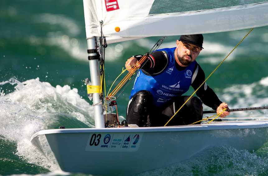 Leaderboards take shape on Day 2 at Hempel World Cup Series Miami