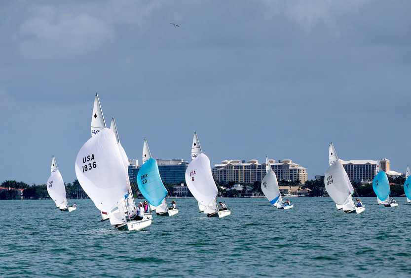 Update on international Olympic sailing events