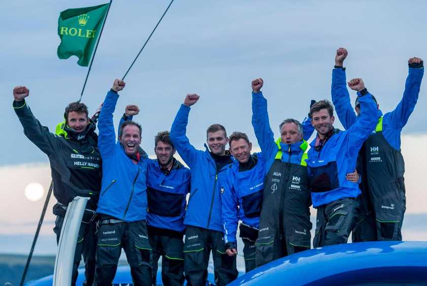 Team Concise win Rolex Fastnet Race