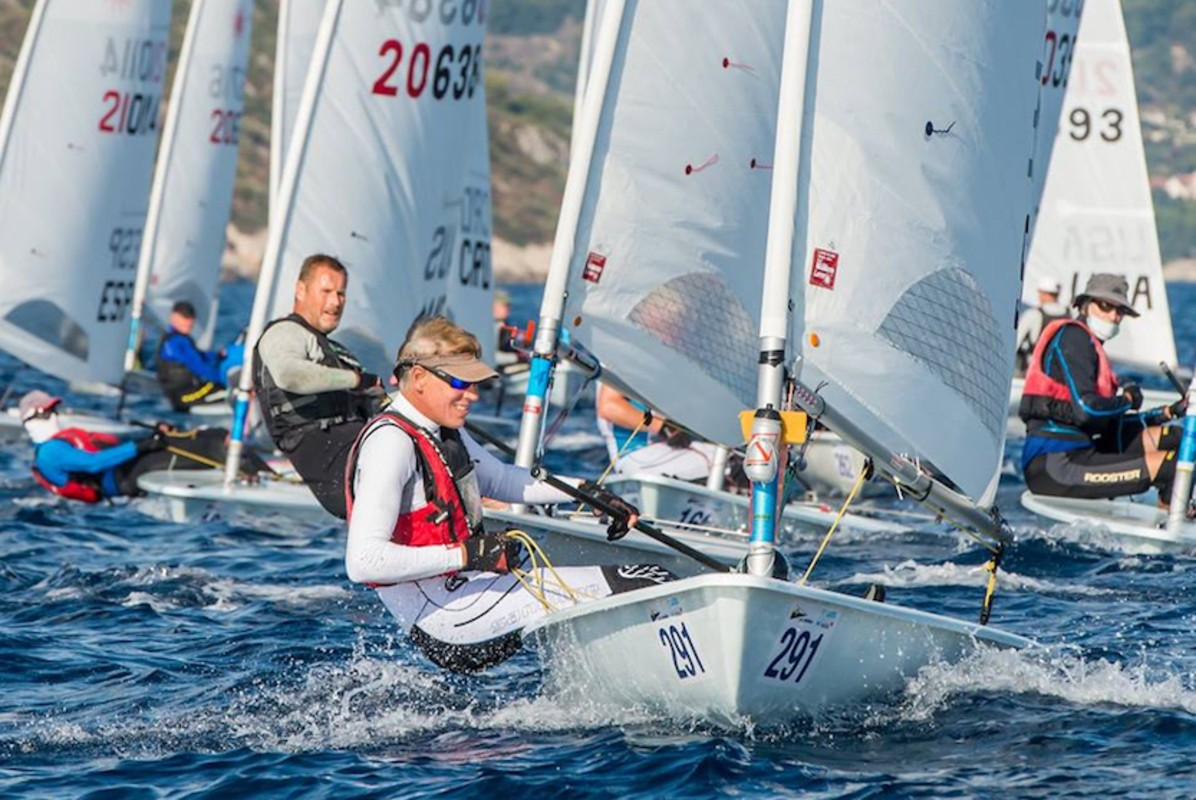 Champions crowned on Final Day of Laser Masters Worlds
