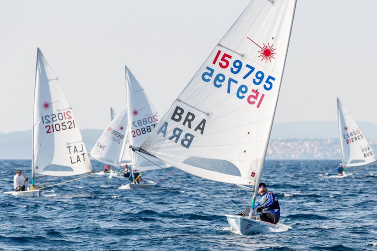 Maciej Grabowski leads on Day Three of Laser Masters Worlds