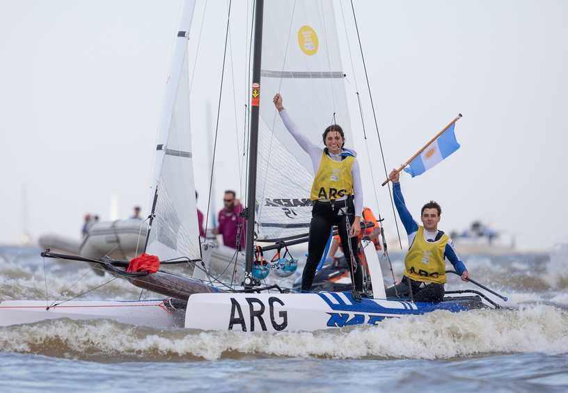 Argentina win Nacra 15 gold at home Youth Olympic Games