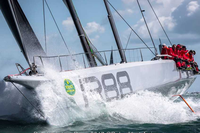 Rambler 88 claims monohull line honours