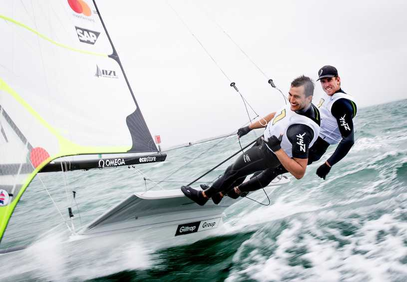 Thrilling Medal Races produce World Champions